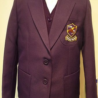 LCSE Blazer Purple Boys