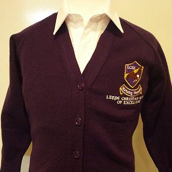 LCSE Cardigan Purple