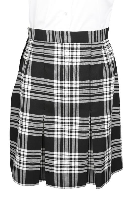 428b72edc3a7 Wetherby High black/white pleated skirt - Kool Kidz Uniforms