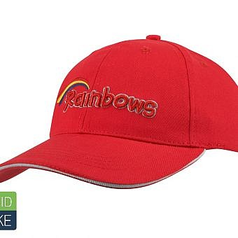 Rainbow Cap red