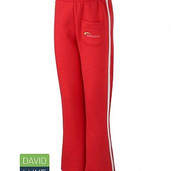 Rainbow Jogging Trousers Red