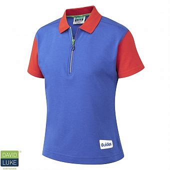 Guide polo top Red/Royal Blue