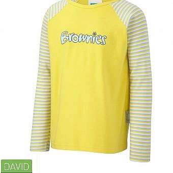 Brownie Long sleeve T Shirt Yellow
