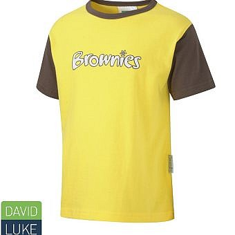 Brownie T Shirt Brown